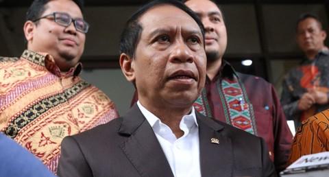 Ketua Komisi II DPR, Zainuddin Amali