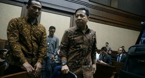 Sidang Setya Novanto di Pengadilan Tipikor