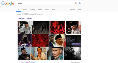 Foto Amien Rais di Google