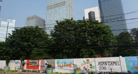 Mural Asian Games
