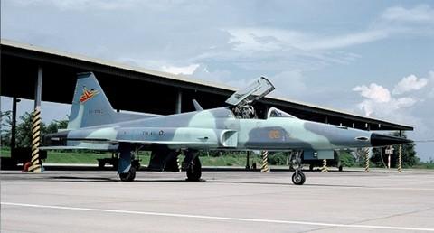 Pesawat F-5 Tiger Indonesia