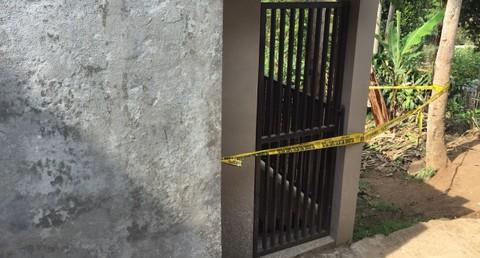 Rumah korban Ela Nurhayati di Lembang