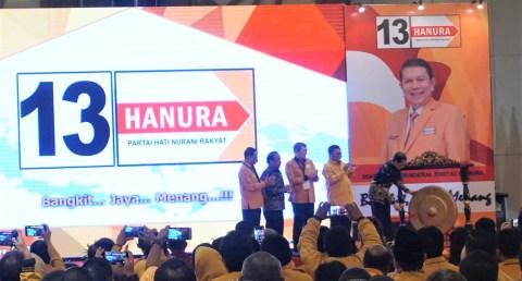 Jokowi, Caleg Hanura di Hotel Discovery Ancol,  Jakarta Utara