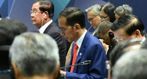 Presiden Joko Widodo, ASEAN Plus Three, Singapura