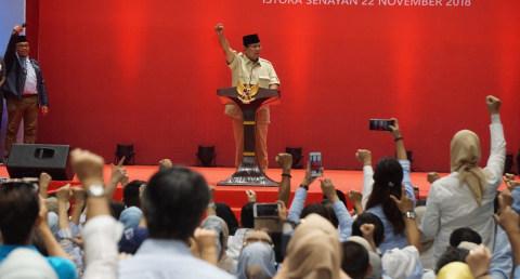 Prabowo: Koalisi Kami Aneh, Ada Anak Bung Karno hingga Anak Pak Harto