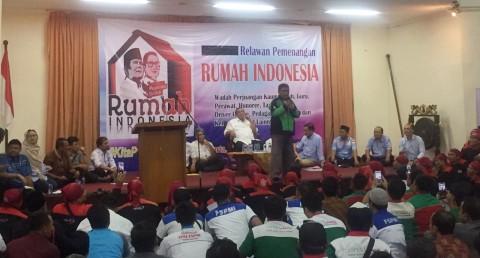 Prabowo-Sandi, komunitas driver ojol