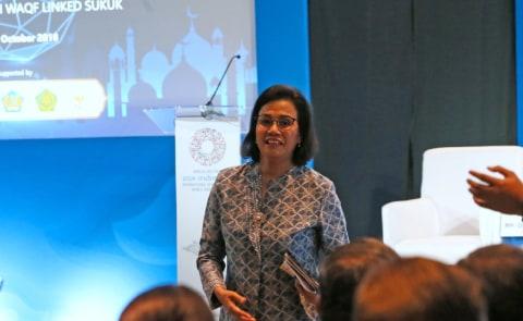 Menteri Keuangan, Sri Mulyani, Forum Ekonomi Syariah, IMF-WB 2018