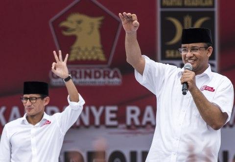 Kampanye Akbar Anies-Sandi