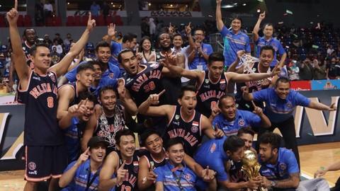 Pelita Jaya memenangkan final IBL 2017.