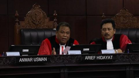 Sidang UU Pemilu di Mahkamah Konstitusi
