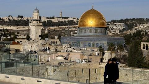 Suasana Kota Yerusalem