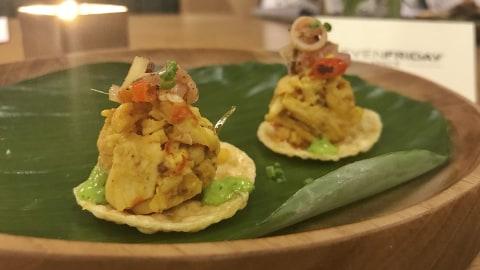 Hidangan Indonesia dari Seven Friday Space