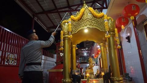 Tim Jibom Amankan Imlek Polda Aceh