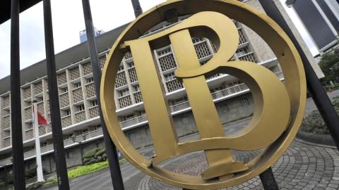 Ilustrasi logo Bank Indonesia