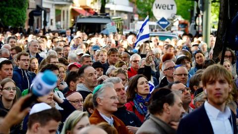 Aksi Dukungan Yahudi di Jerman
