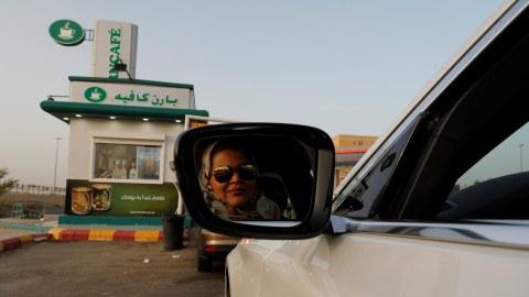 Wanita Menyetir di Arab Saudi