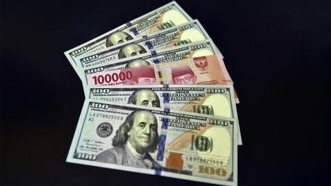 Kurs Rupiah terhadap Dolar AS