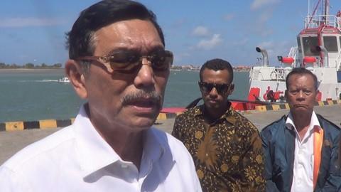 Jelang Pertemuan IMF, Luhut Binsar Panjaitan Menteri Koordinator Bidang Kemaritiman Indonesia, Pelabuhan Tanjung Benoa