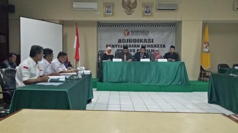 Sidang ajudikasi perselisihan Pemilu Legislatif 2019, Bawaslu DKI
