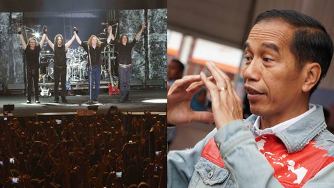 Megadeth dan Joko Widodo