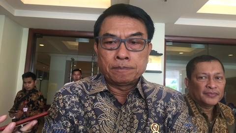 Kepala KSP Moeldoko, Hotel Borobudur
