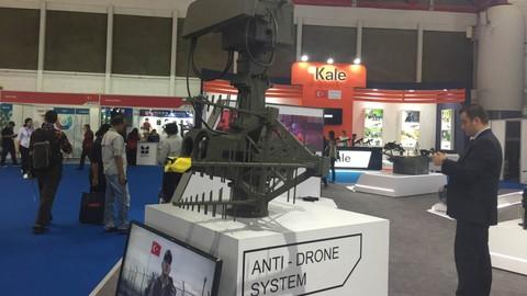 Senjata Anti Drone, Indo Defence 2018