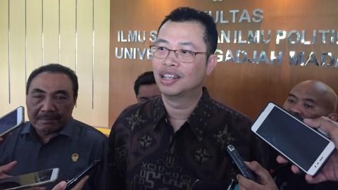 Dekan Fisipol Universitas Gadjah Mada (UGM) Yogyakarta, Erwan Agus Purwanto
