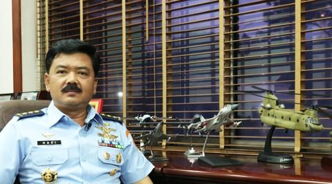 Kepala Staf Angkatan Udara Hadi Tjahjanto