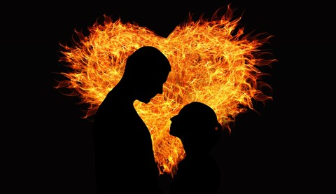 Api Cinta yang Membara