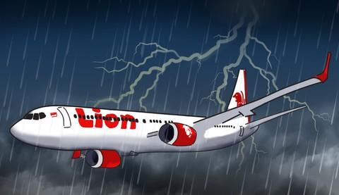 Ilustrasi membedah kecelakaan Lion Air
