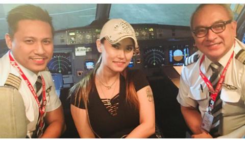Maria Ozawa tiba di Bali