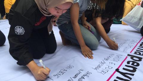 Gerakan #kitaAgni di Fisipol UGM