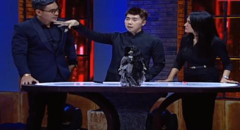 Acara Televisi 'Karma' yang Dipandu Robby Purba dan Roy Kiyoshi