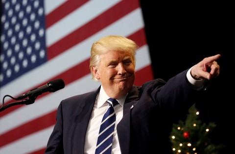 Presiden Terpilih AS Donald Trump