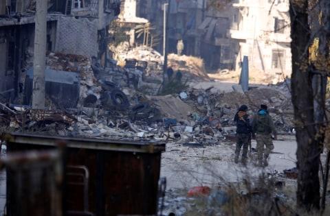 Konflik di Aleppo, Suriah