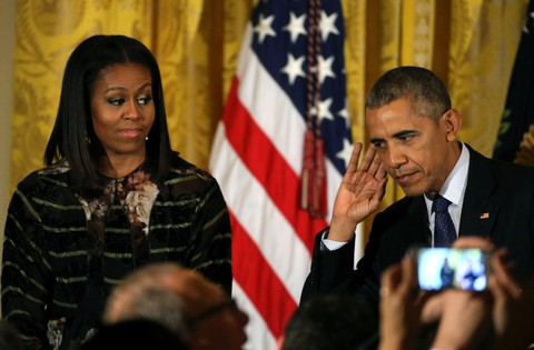 Michelle dan Barack Obama