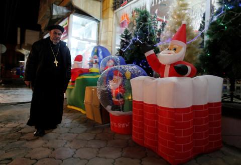 Suasana Natal di Irak