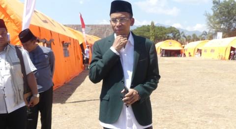 Lipsus, Gempa Lombok, TGB Nainul Majdi