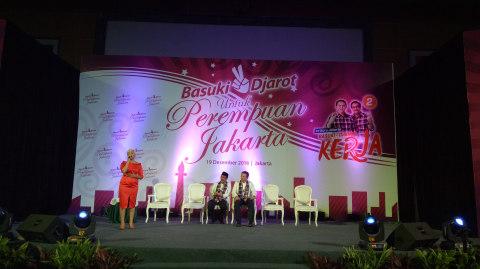 Basuki Tjahja Purnama dan Djarot Syaiful Hidayat