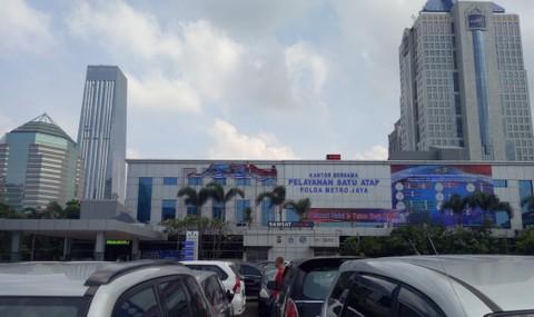 Pengurusan STNK di Polda Metro Jaya