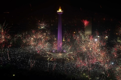 Tahun baru di Jakarta
