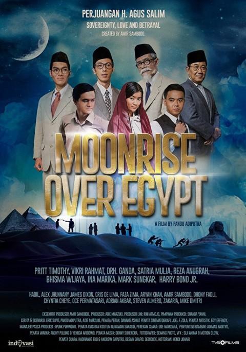 Film 'Moonrise Over Egypt' (NOTCOV)