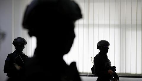 Polisi buru teroris HL