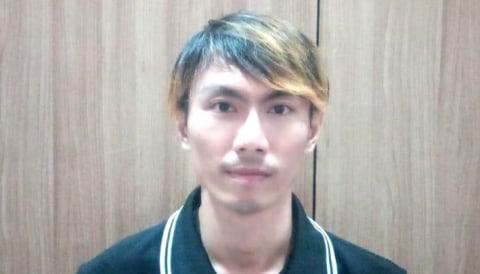 Seorang pengemudi taksi online Grab, Hendrik Sugiyanto