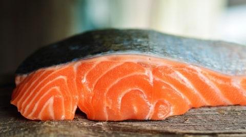 Lemak ikan salmon