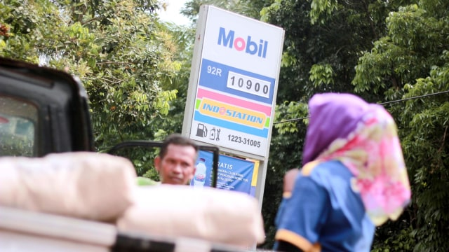 Jualan di Kampung, SPBU Mini Exxon Raup Omzet Rp 1,6 Juta per Hari