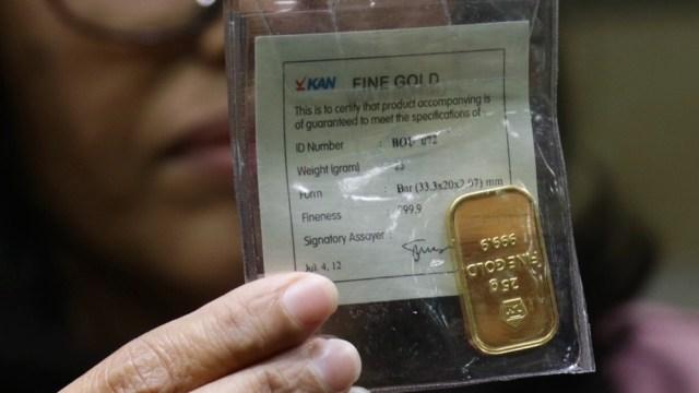 Harga Emas Pekan Ini Dibuka Turun Rp 1500 Kumparancom