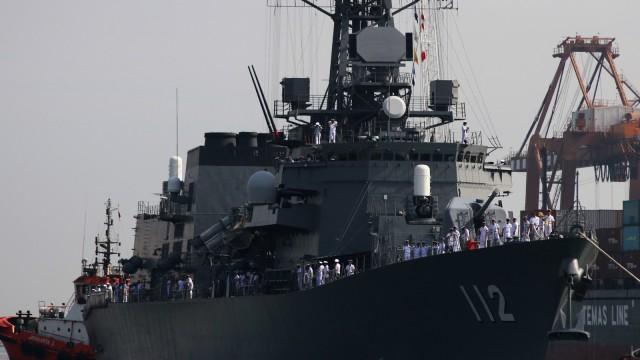 Jepang Perkenalkan 3 Kapal Militernya Ke Indonesia Kumparancom