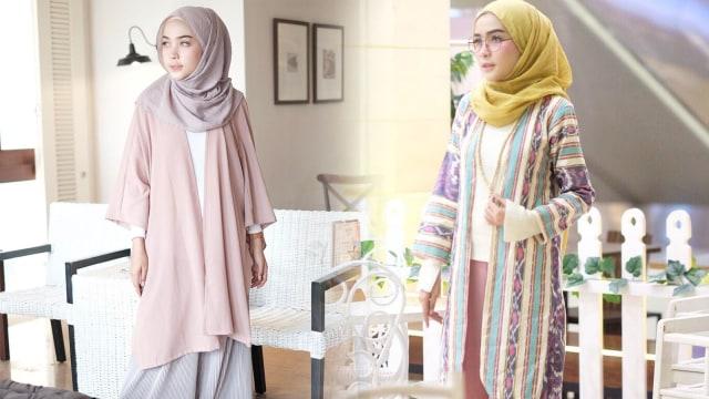 Inspirasi Padu Padan Outer Dan Celana Kulot Ala Hamidah Rachmayanti