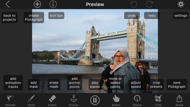 Cara Edit Foto Dengan Latar Bergerak Pakai Aplikasi Plotagraph